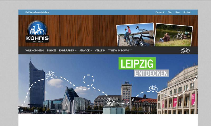 Homepage Kuehnis Radhaus