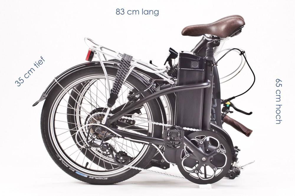 BIKE TO CARE - F2-PRO E-Faltrad - 20Zoll